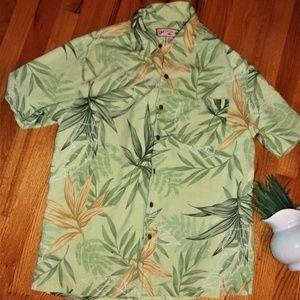 Other - Caribbean Joe short sleeve mens Hawaiian shirt top